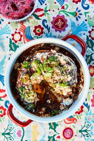 Chilaquiles NYTCREDIT: Joe Schmelzer for The New York Times